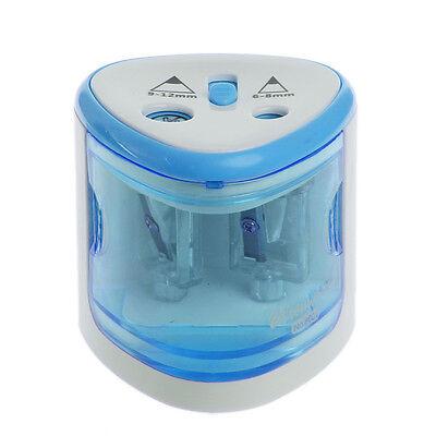 Adjustable Automatic Pencil Sharpener Classroom Office Desktop School Supplie W0