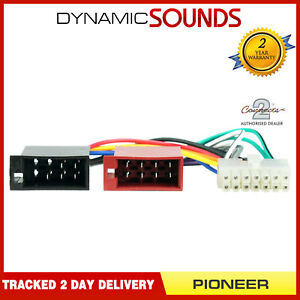 details about ct21pn02 14 pin iso head unit replacement car stereo wiring  harness for pioneer