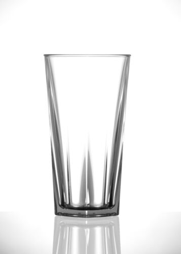 PLASTIC PINT BEER GLASSES PREMIUM POLYCARBONATE CE GLASSWARE