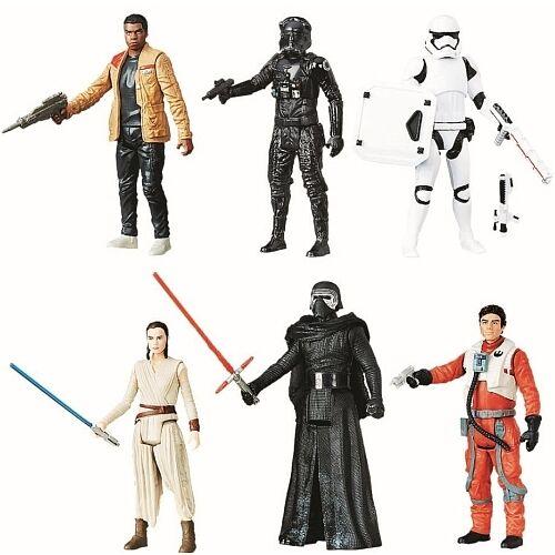 Star wars force graduate 6 action figure set kylo ren tie fighter pilot king