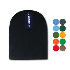 1 Dozen Made in USA America Decky Beanies GI Short Watch Caps Hats ... bc407328736