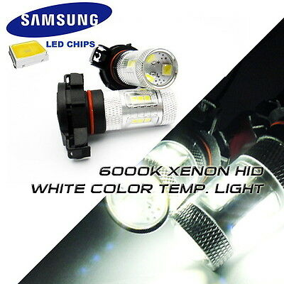 LEDIN 2x White 16 SMD LED Inner Tail Light 168 T10 194 Bulb