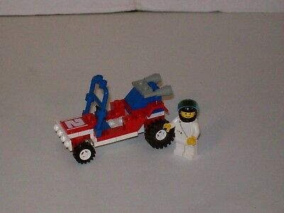 Lego 6528 Classic Town Car SAND STORM RACER Complete w//Instructions