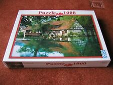 "F. X. SCHMID JIGSAW 1000 PIECES PUZZLE ""THE WATERMILL"" NEW & SEALED"