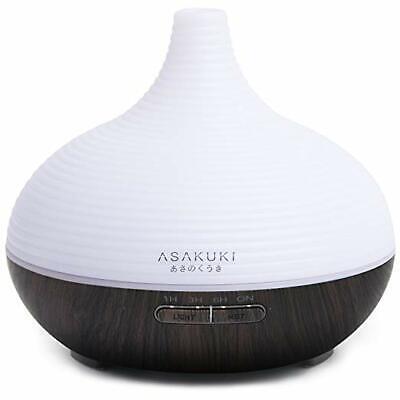 Essential Oil Diffuser by Asakuki 300ml Quiet 5 in 1 Humidifier Black   eBay