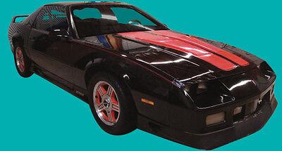 1991-1992 Camaro Z28//RS Heritage Stripe Kit Black