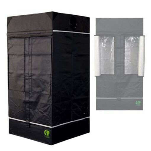 HomeLab 100 100 x 100 x 200 200 200 cm Grow & Anzucht Eastside Impex Growbox Growschrank 21e39e