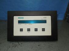 Siemens 4720 Power Meter Used 1301 Software Version Used