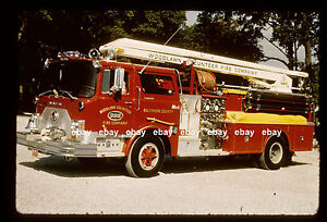 Details about Woodlawn MD 1969 Mack CF Squrt Fire Apparatus Slide