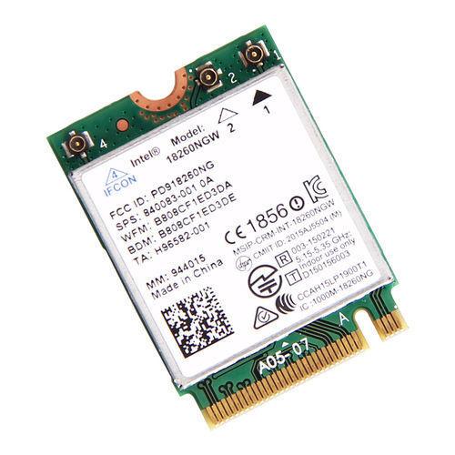 Intel 18260NGW Tri-band wireless AC 18260 NGFF Wifi Bt4.1 867M dell 0j7y3c Card