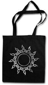 CELTIC SUN STOFFTASCHE EINKAUFSTASCHE Cross Celts Religion Symbol Sign Culture
