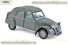 Citroën 2 CV AZL Malle Bombée de 1957 Grey NOREV - NO 181499 - Echelle 1/18