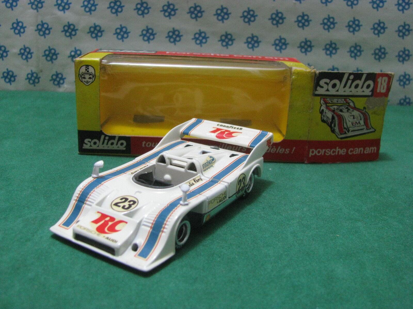Vintage - PORSCHE 917/10 T.C. Can-Am  Charlie Kemp  - 1/43 Solido n 18
