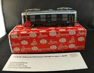 HAG-Suisse-n-225-Motrice-electrique-Wechselstrom-3-Leiter-SBB-CFF-neuf-en-boite