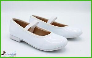 prima qualità accaparramento come merce rara vendita outlet Dettagli su Geox scarpe da Bambina Ballerine Eleganti per Cerimonia  Comunione Ragazza Bimba