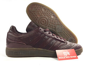 Details about 8.5 NEW adidas Originals Busenitz Pro Horween Leather Shoes Brown Skate BB7116
