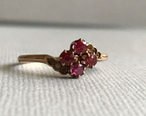 Antique ruby ring, Ruby Ring for Repair, Edwardian