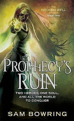 1 of 1 - Prophecy's Ruin by Sam Bowring Small Paperback 20% Bulk Book Discount