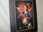 Marvel Comic Book Character Psyloche Poster  Comic Book Convention Exhibit