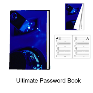 Password Book - The Ultimate Password Book - Best Layout and Made in USA.