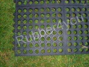 LAWN SAFETY GARDEN mat for under and around Hot tubs lay on Patio