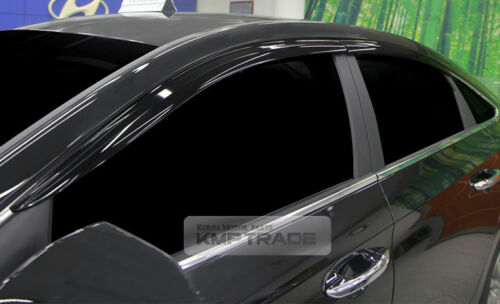 Smoke Window Sun Vent Visor Rain Guards 4P A195 For HYUNDAI 2018 Sonata i45