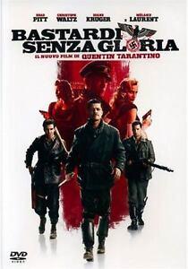 DVD-Bastardi-Senza-Gloria-TARANTINO-PITT-WALTZ-KRUGER-FASSBENDER-ITALIANO
