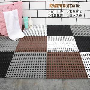 Bad Teppich Pad Matte Rutschfest Dusche Diy Boden Badezimmer Massage