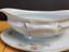 thumbnail 2 - Rosenthal Modell Gravy Boat with Attached Underplate R1817 White Pink Flowers