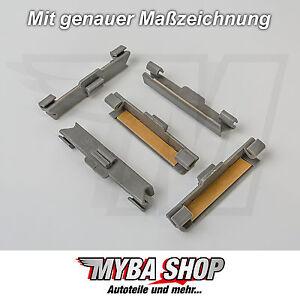 16x-scheibenklammer-con-cinta-CLIPS-Soportes-BMW-E30-E32-e34-Clip-NUEVO