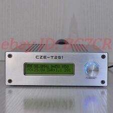 CZE-T251 0-25W broadcast radio station FM transmitter+Power adapter+Antenna ANT
