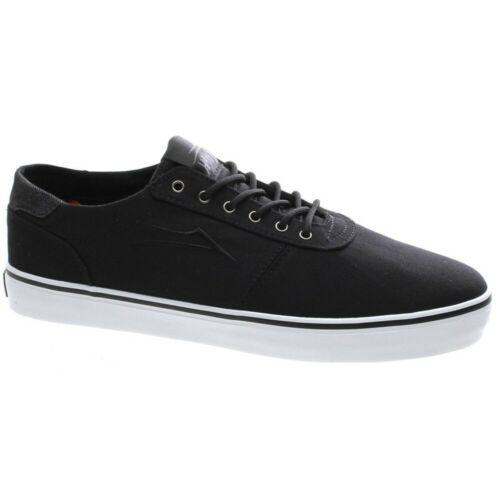 Lakai Manchester Lean Black Canvas Shoe
