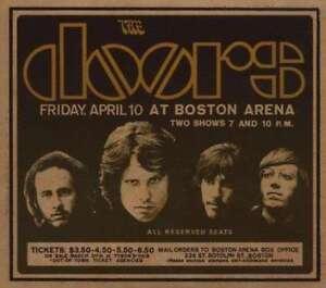 The-Doors-Live-IN-Boston-1970-Nuovo-CD