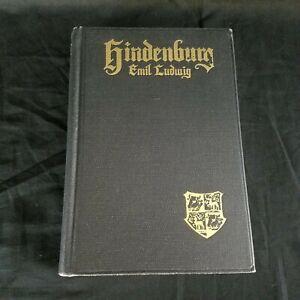 VTG-1935-Hindenburg-by-Emil-Ludwig-John-C-Winston-Co-HC-Book-w-Photographs