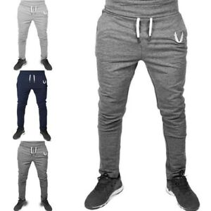 Tracksuit-Fitness-Gym-Sweatpants-Trousers-Sport-Men-039-s-Pants-Long-Workout-Joggers