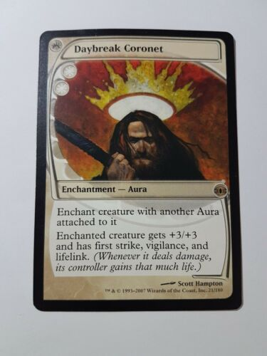 Future Sight Magic//mtg Daybreak Coronet Rare