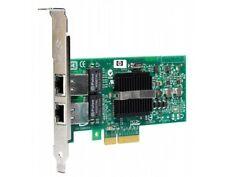 HP NC360T PCIe 412651-001-F altezza Dual Port Gigabit NIC Server Adattatore di rete