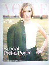 Magazine VOGUE PARIS mode French supplément du #774 spécial pret à porter