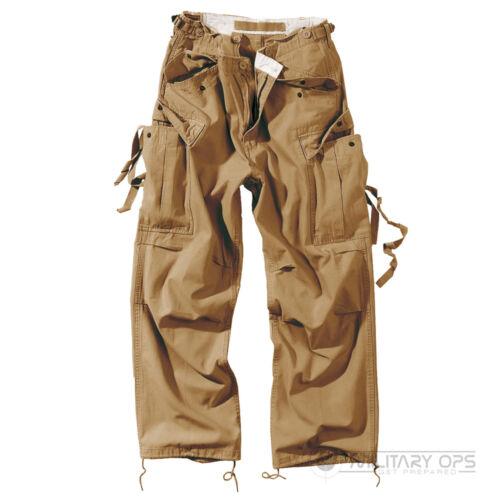 Surplus Raw Vintage Uniforme da fatica Pantaloni Cargo Combat Pantaloni