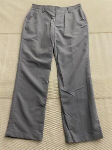Under Armour Hombre 34 X 32 1248089 Match Play Gris Flex Golf Chino Pantalones De Vestir Ebay