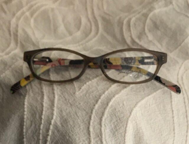Youth Vera Bradley Frames Buttercup 130 VB Maya Glasses NEW