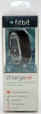 NEW Fitbit FB405 LARGE Charge HR Wireless Activity Wristband Fitness/Heart Rate