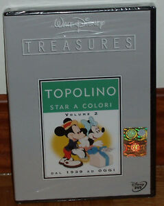 TESOROS-DISNEY-MICKEY-A-TODO-COLOR-VOL-2-1939-2004-2-DVD-ESPANOL-SIN-ABRIR