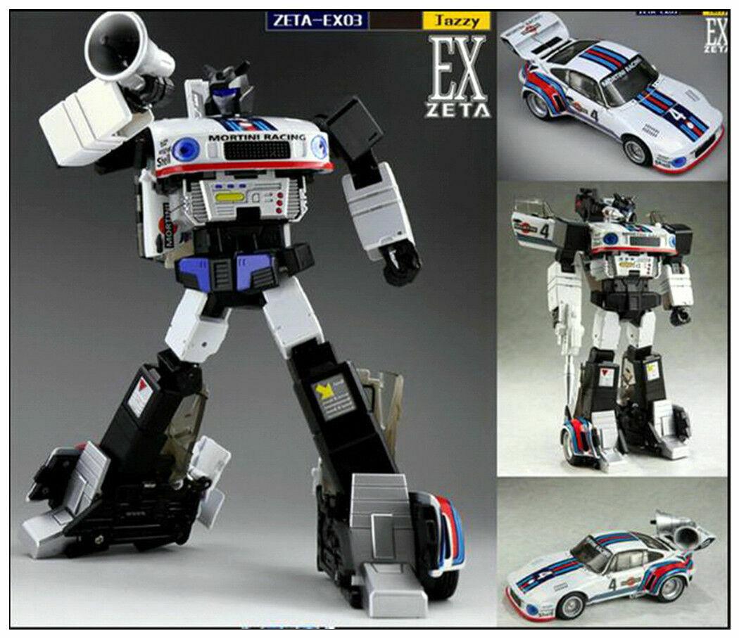 Nya transformerare Leksaker Zeta EX-03 Jazz G1 MP Scale actionfig leksak instock