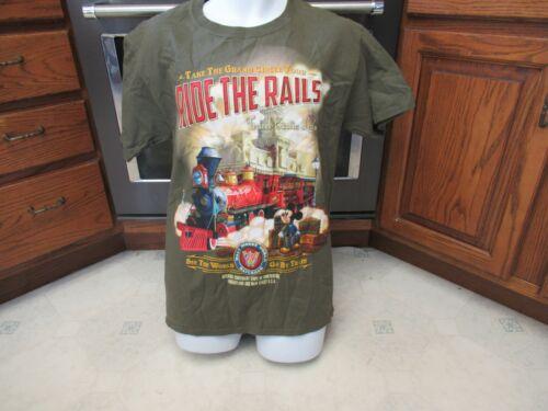 Ride the Rails Walt Disney World Train ride t shir