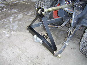 Compact Tractor A Frame