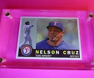 2009-Topps-Heritage-HIgh-Number-Series-SP-714-Nelson-Cruz-Rangers