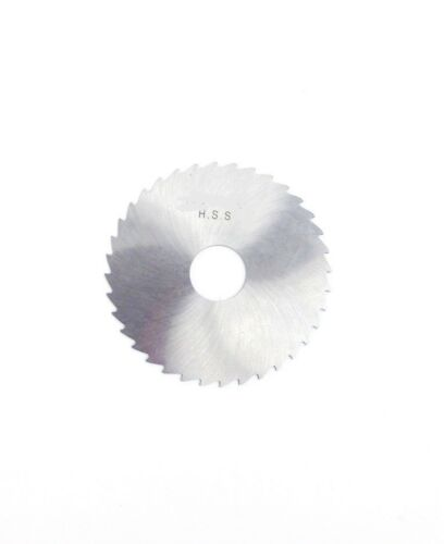 "4 X 1//16 X 1/"" HIGH SPEED STEEL PLAIN SLITTING SAW 5071-4404"