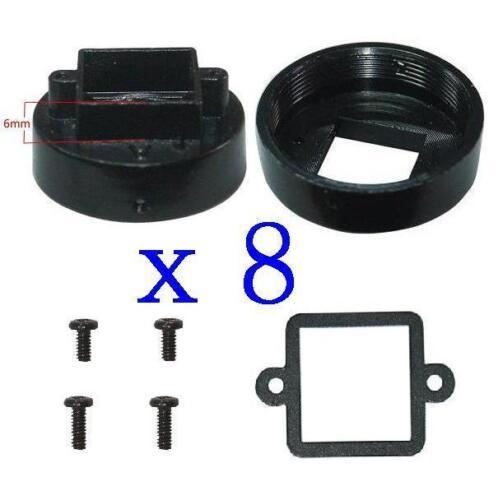Sunvision 8x Metal CS Mount 6.0mm Lens Holder Kits for CCTV Board Camera CS6