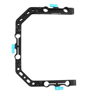 Fotga-DP3000-C-shape-Cage-Bracket-Mount-For-15mm-Rod-Rail-Rig-Follow-Focus-DSLR